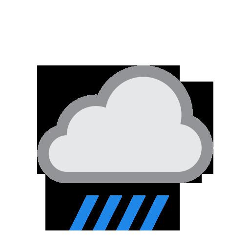 Klimatabelle Mallorca: Das Wetter am 2021-04-17 bei Palma de Mallorca - Starker Regen