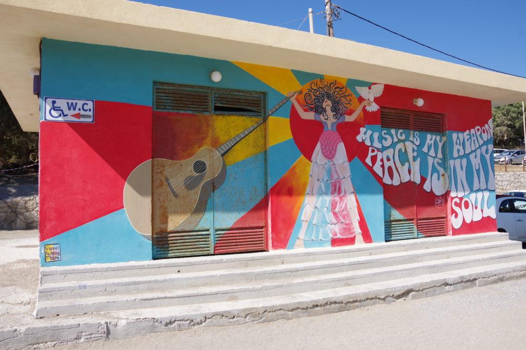 Matala auf Kreta: Hippie-Kunst