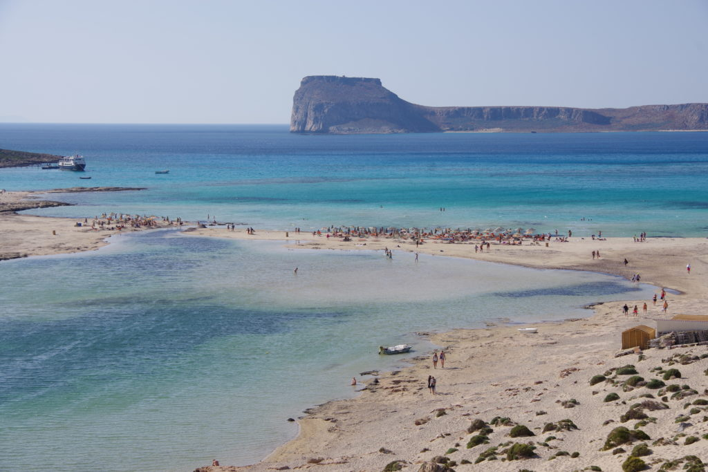 Balos Beach: Sandbank