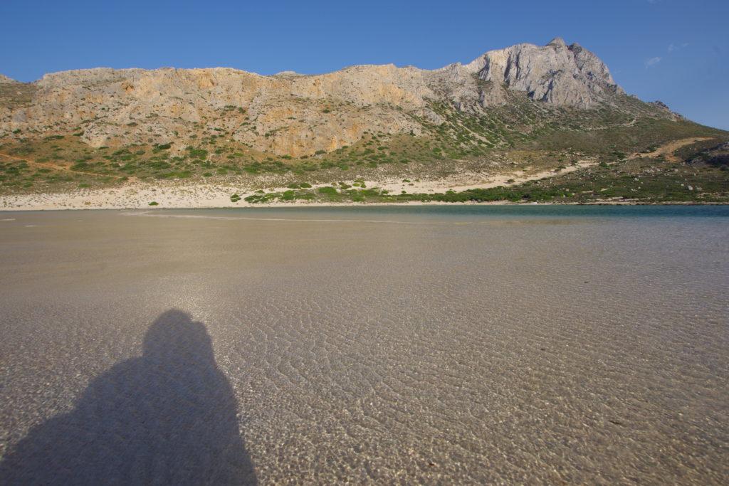 Balos Beach: Lagune
