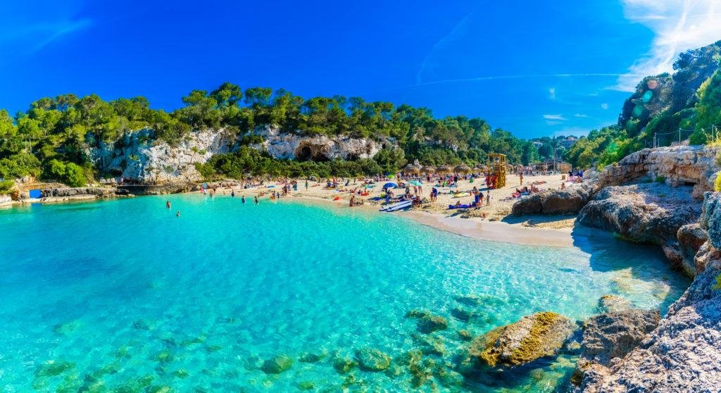 Wassertemperatur Mallorca: Strand Cala Llombards