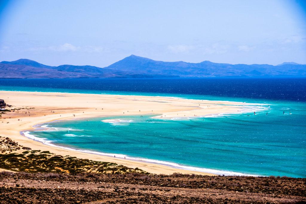 Wassertemperatur Fuerteventura: Strand Playas de Sotavento