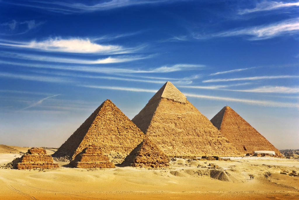 Klimatabelle Ägypten: Pyramiden von Gizeh
