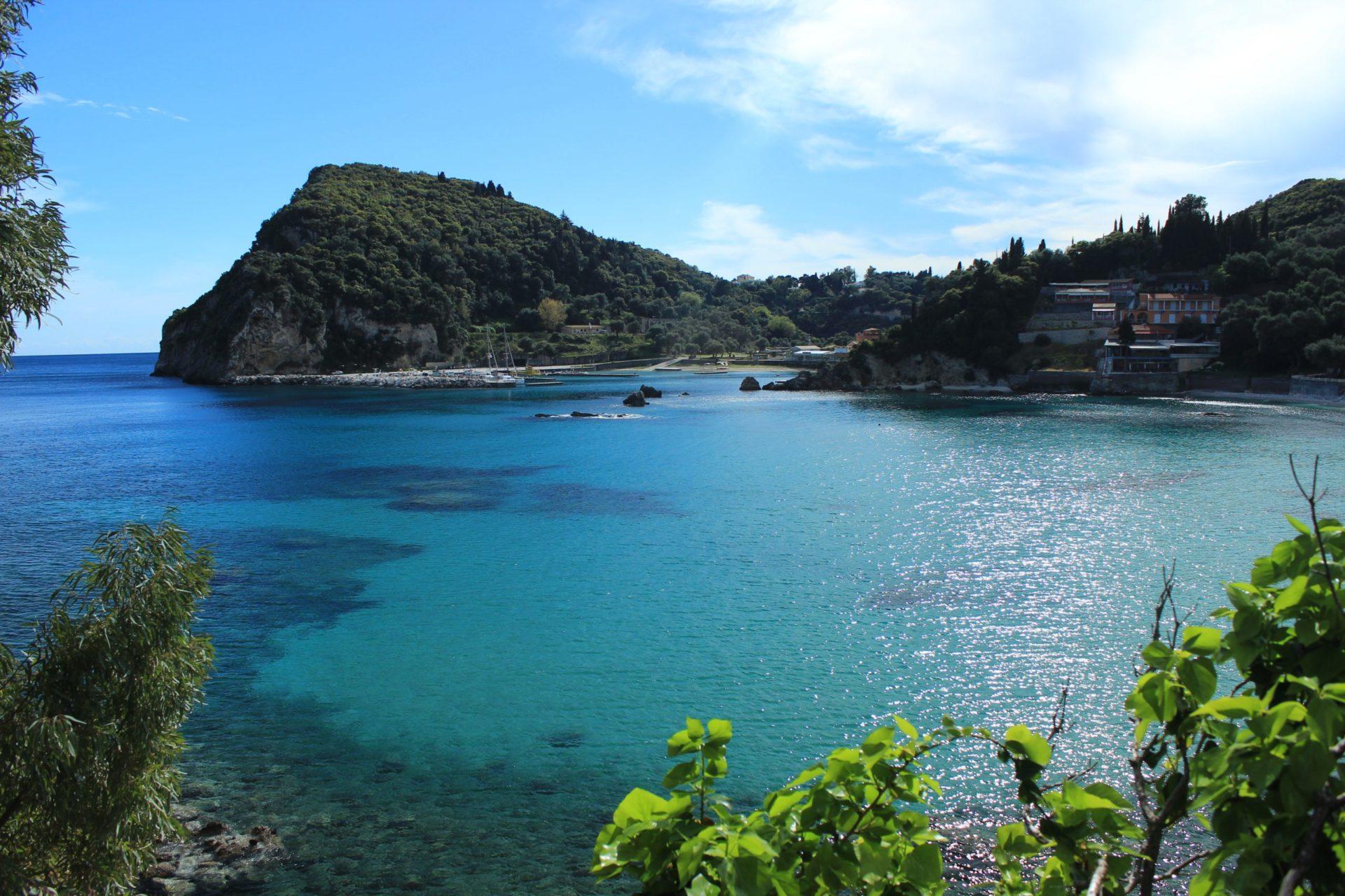 Wassertemperatur Korfu: Mittelmeer bei Paleokastritsa