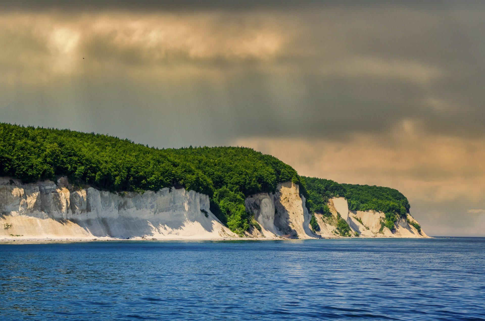 Wassertemperatur Rügen: Kreideküste im Nationalpark Jasmund