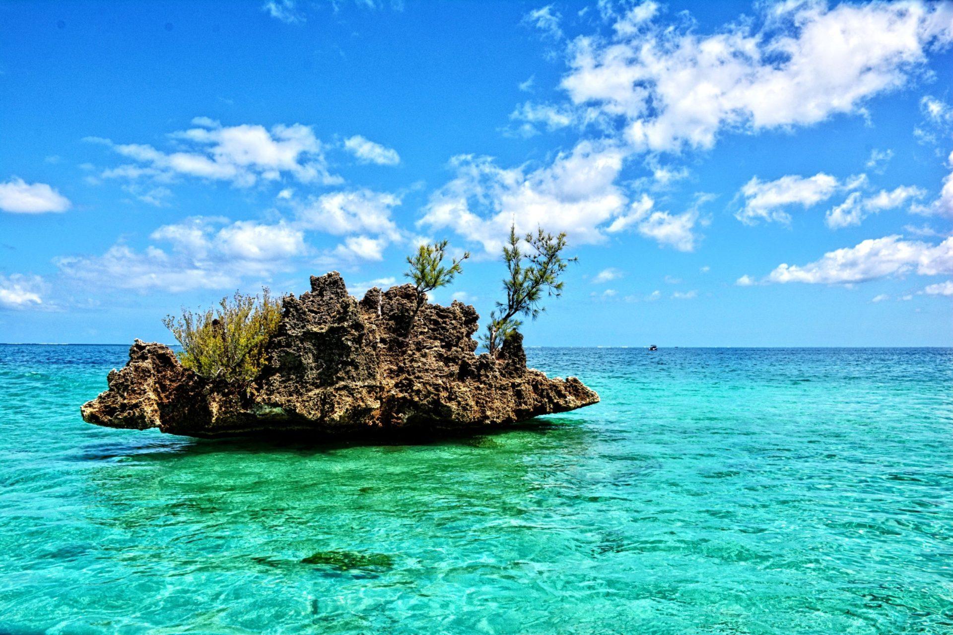 Wassertemperatur Mauritius: Crystal Rock bei Le Morne