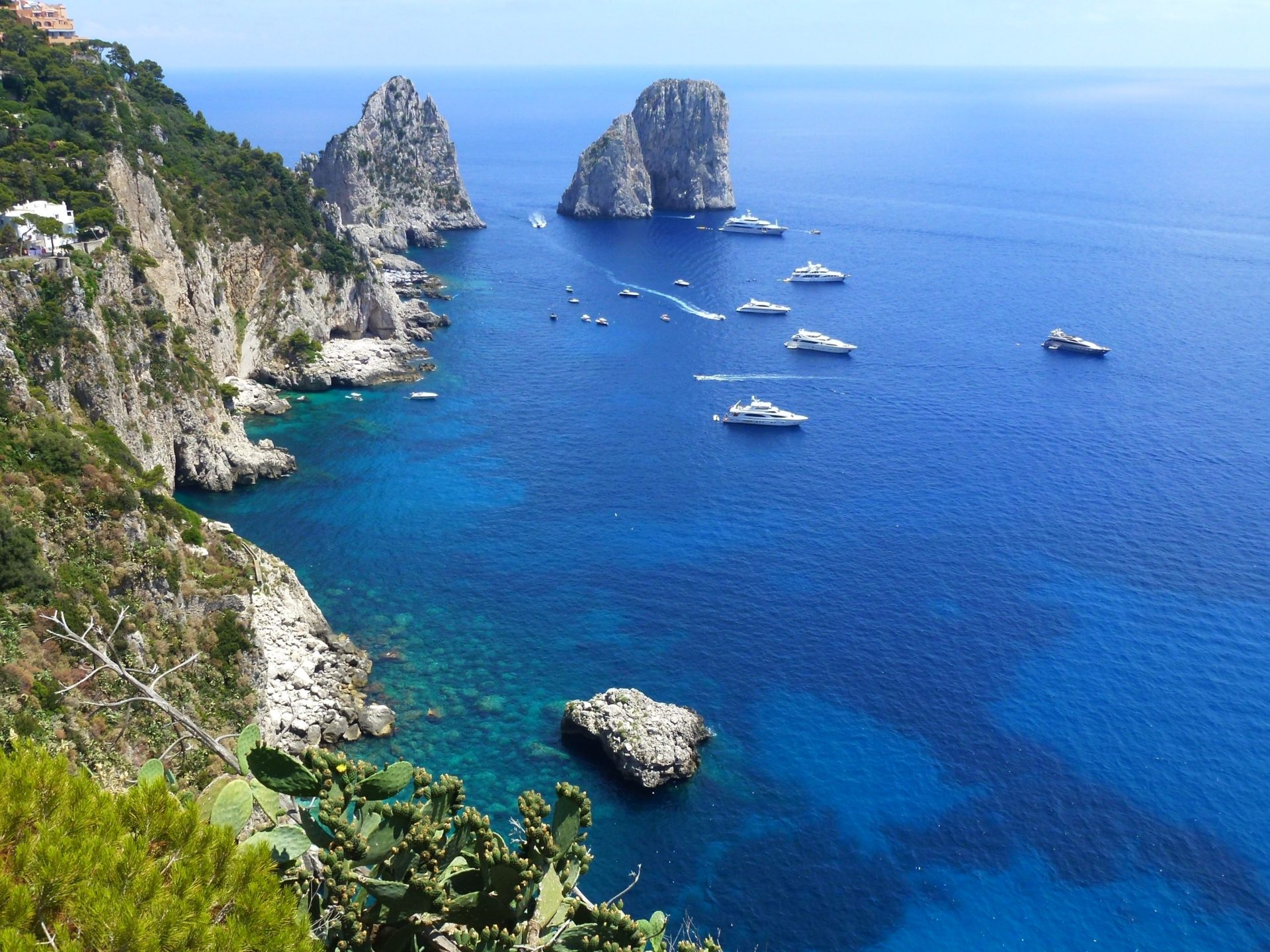 Wassertemperatur Capri