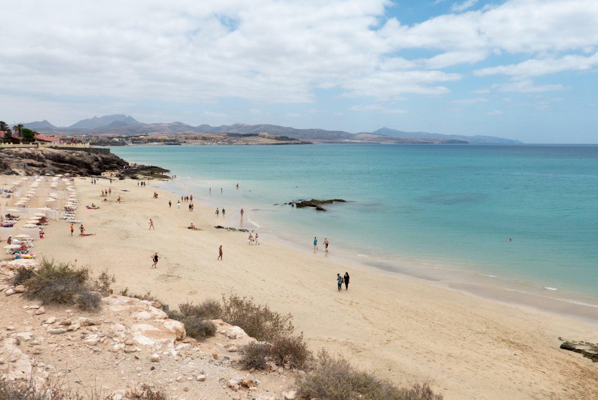 Wassertemperatur Costa Calma