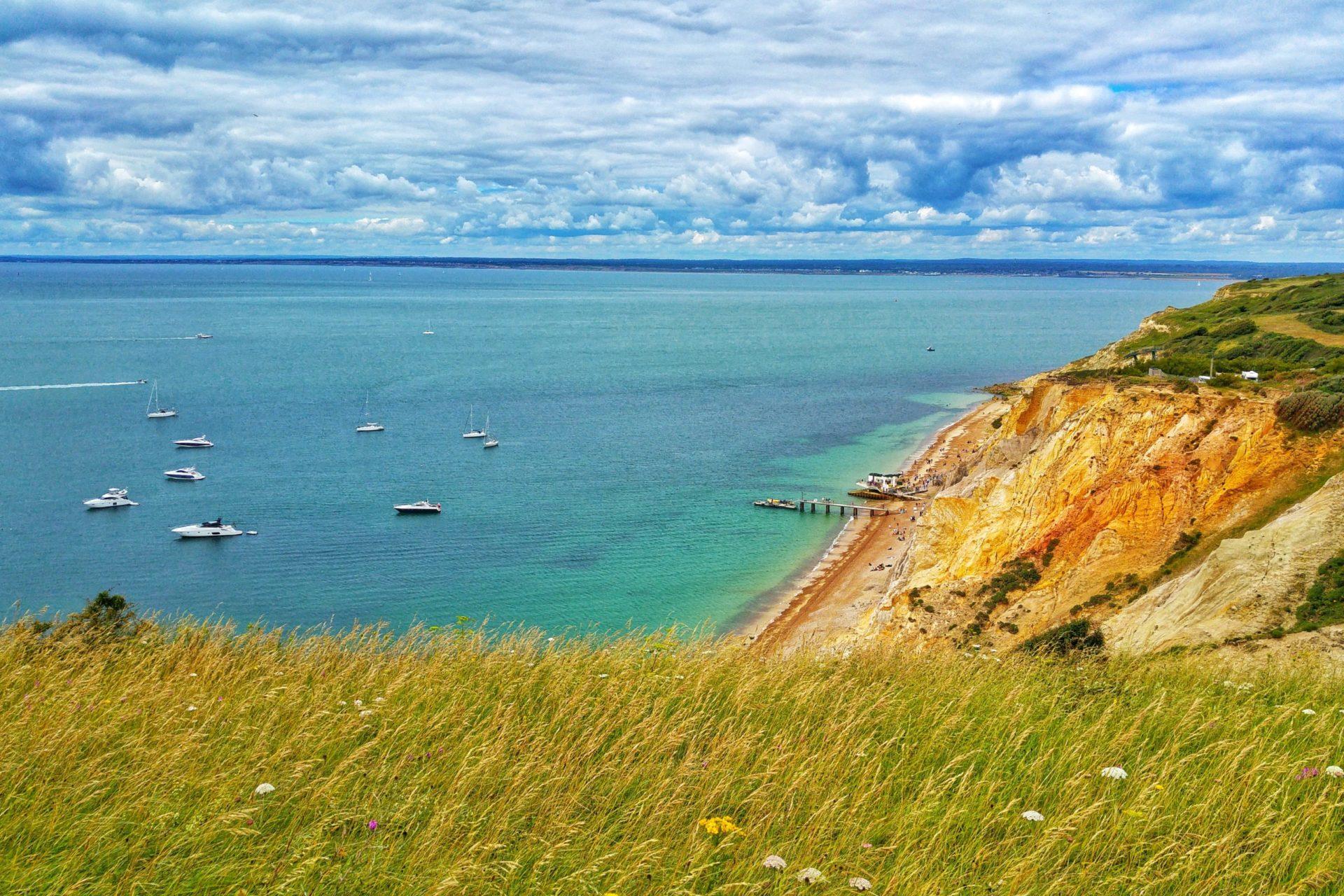 Wassertemperatur Isle of Wight