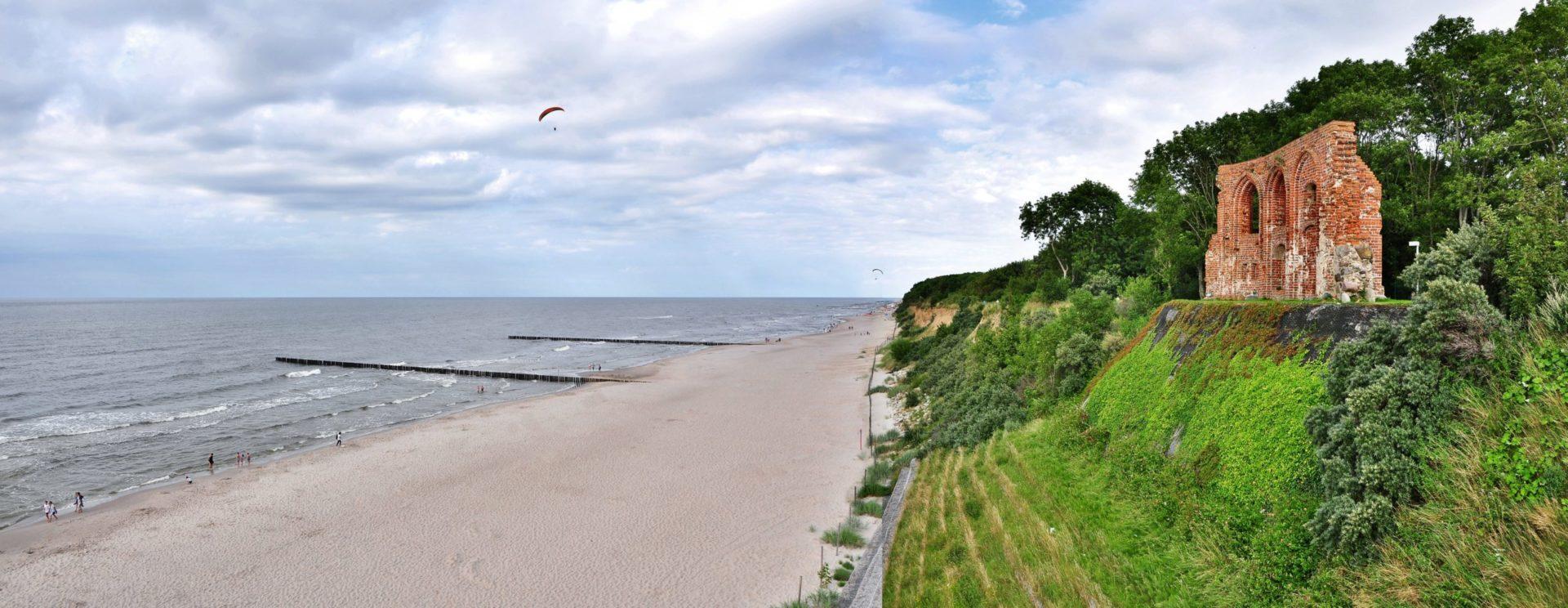 Blaualgen Polnische Ostsee