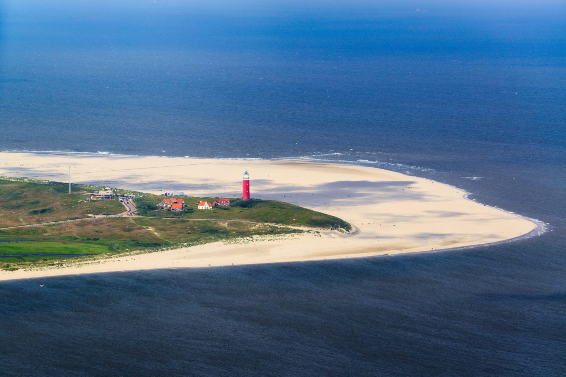 Wassertemperatur Texel: Leuchtturm Eierland
