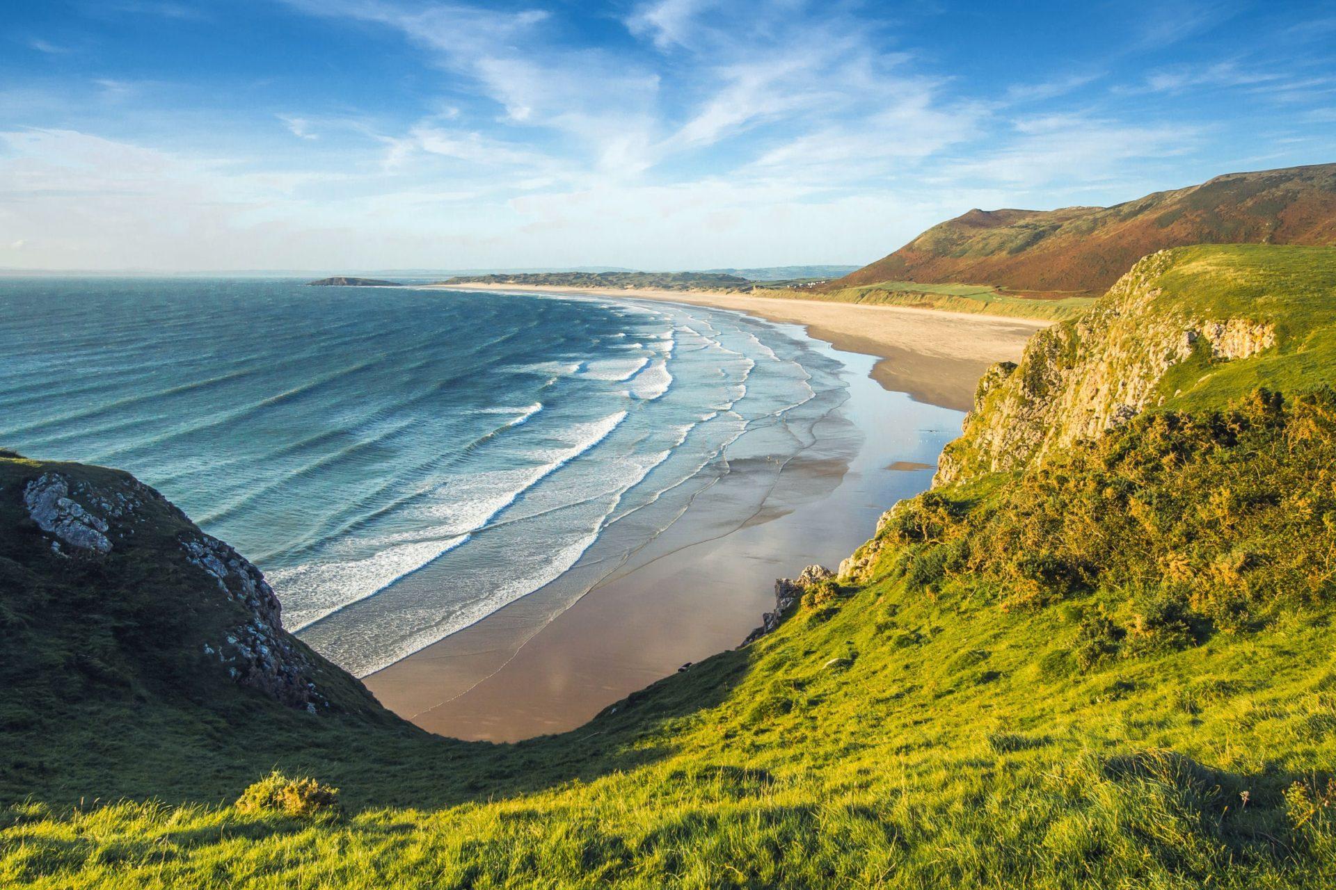 Wassertemperatur Wales