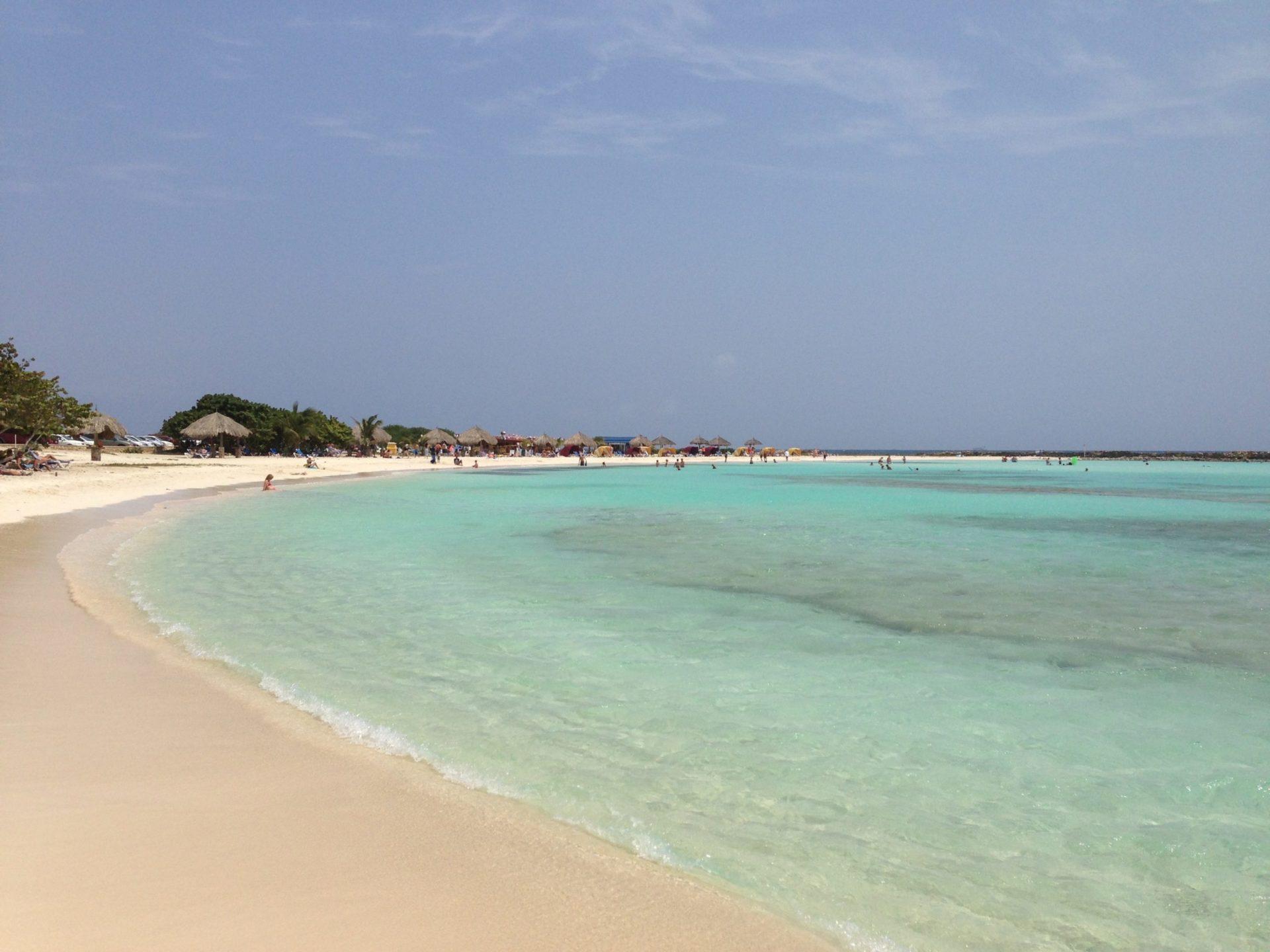 Wassertemperatur Aruba
