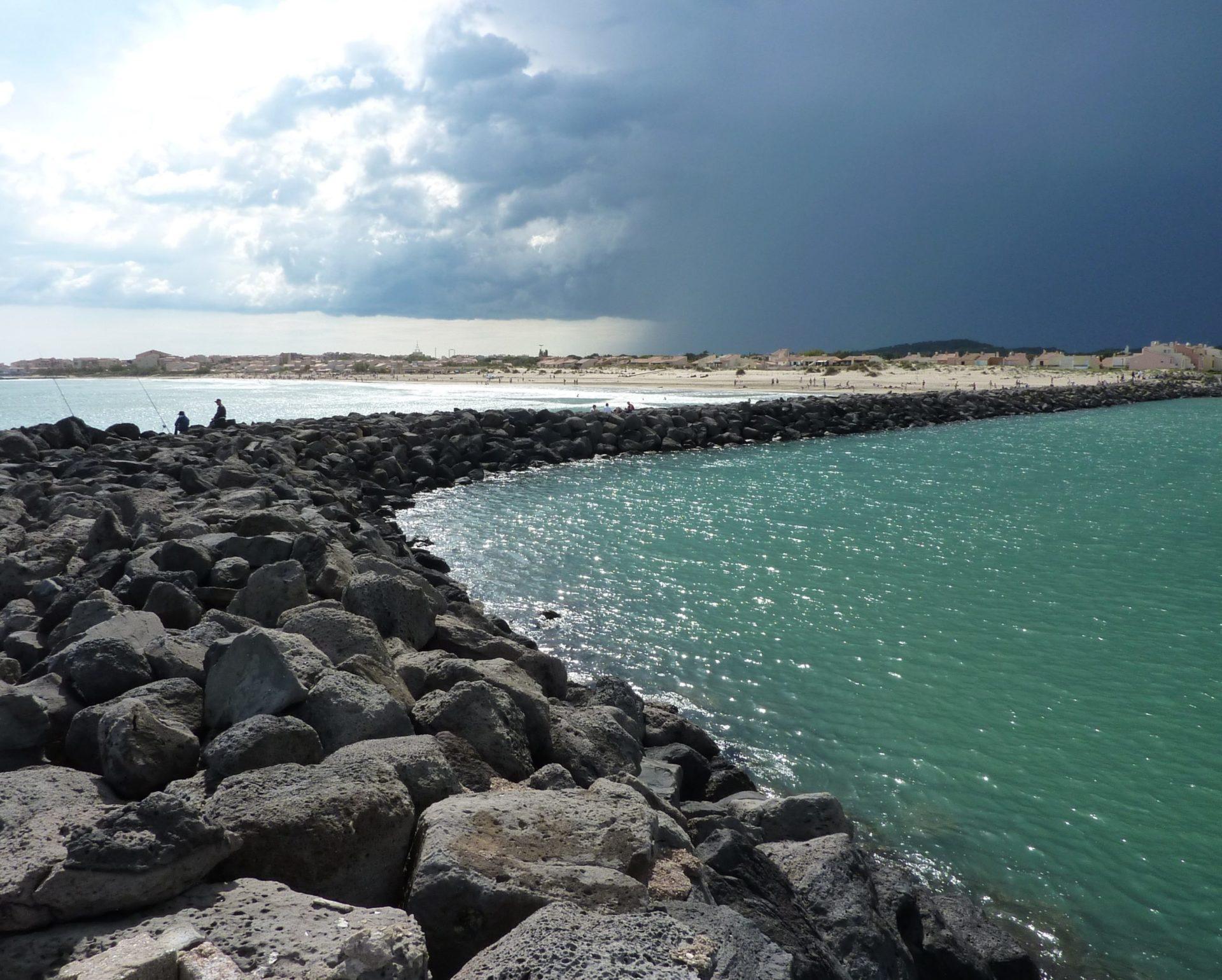 Wassertemperatur Cap d'Agde