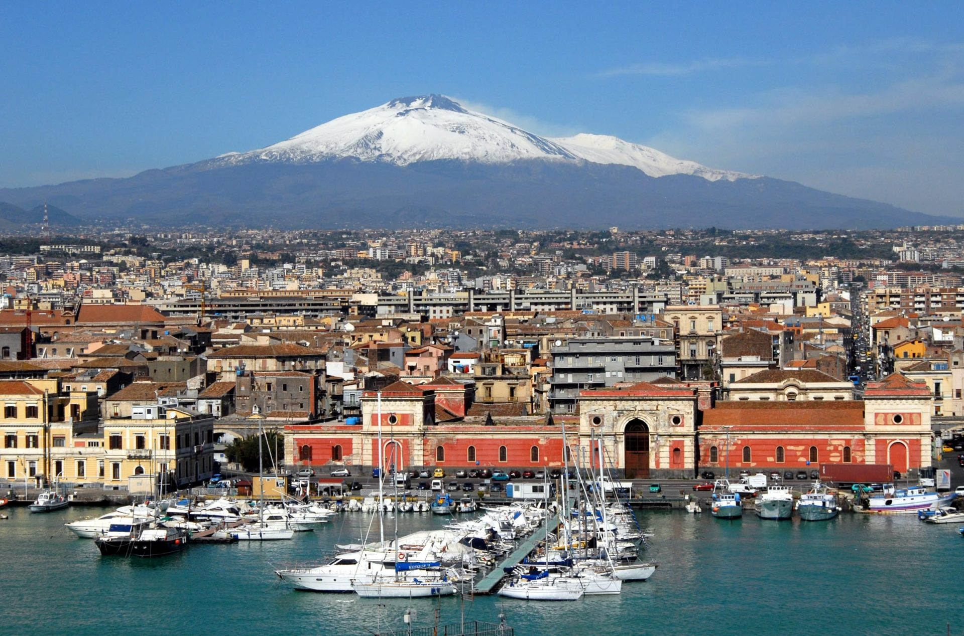 Wassertemperatur Catania