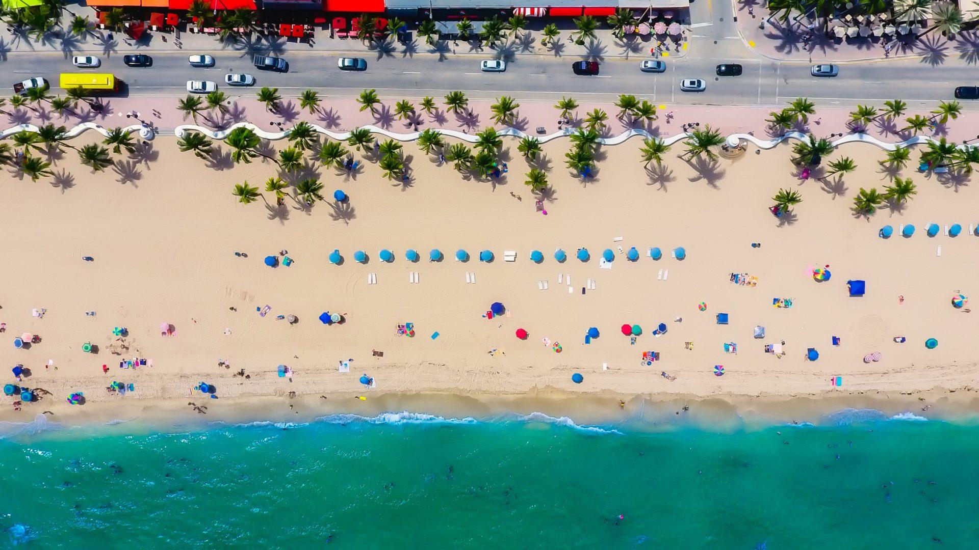 Wassertemperatur Fort Lauderdale