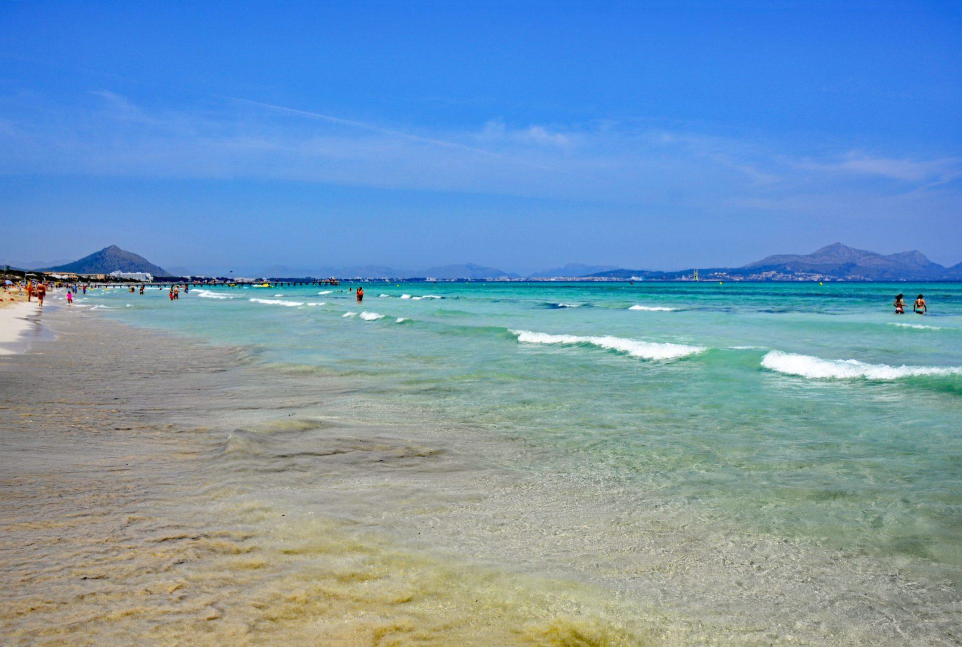 Wassertemperatur Playa de Muro
